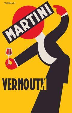 Martini Vermouth Liquor - Martini & Rossi by Giuseppe Riccobaldi
