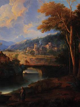 Landscape with the Zebedee Sons Calling by Giuseppe Roncelli