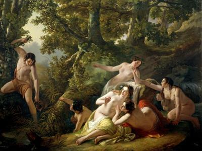 Hylas Discovered by Nymphs, 1843
