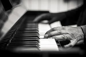 Hands on a Piano by Giuseppe Torre