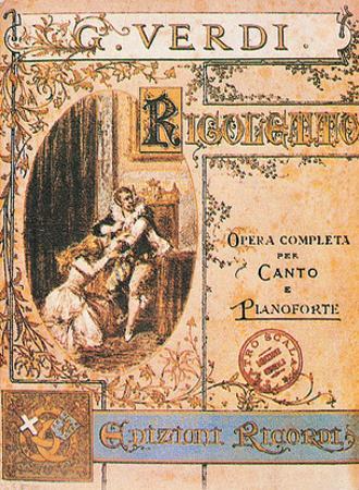 Giuseppe Verdi- Rigoletto Playbill