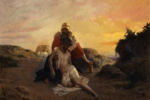 The Good Samaritan by Giuseppe Zannoni