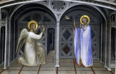 The Annunciation by Giusto De' Menabuoi