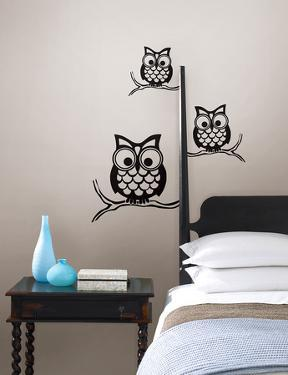 Give a Hoot Wall Art Kit