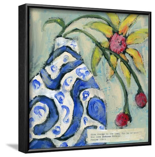 Give Thanks-Pamela J. Wingard-Framed Art Print