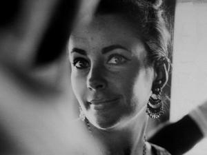 """Actress Elizabeth Taylor on Location During Filming of Motion Picture """"The Night of the Iguana"""" by Gjon Mili"""
