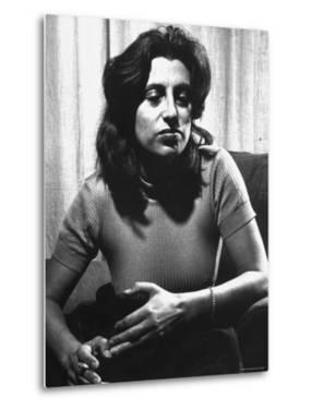Anna Magnani in Her Rome Apartment by Gjon Mili