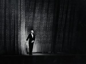 Ballet Master George Balanchine Taking a Curtain Call After Performance, New York State Theater by Gjon Mili