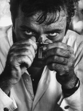 """Richard Burton in a Scene from Motion Picture """"The Night of the Iguana"""" by Gjon Mili"""