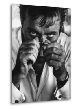 "Richard Burton in a Scene from Motion Picture ""The Night of the Iguana"" by Gjon Mili"