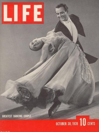 Top Ballroom Dancers, Frank Veloz and Yolanda Casazza, October 30, 1939