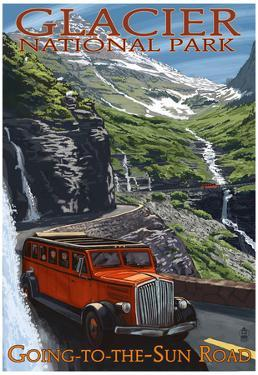Glacier National Park - Going-To-The-Sun Road, c.2009