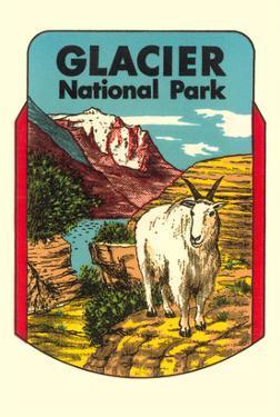 Glacier National Park, Rocky Mountain Goat, Montana