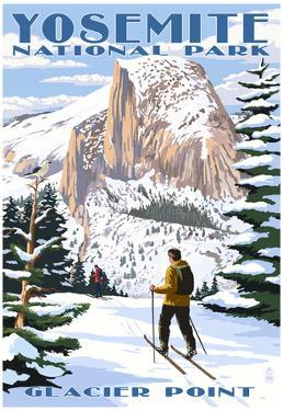 Glacier Point and Half Dome - Yosemite National Park, California