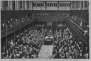 Gladstone Addresses House of Commons