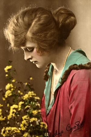 Gladys Cooper (1888-197), English Actress, Early 20th Century