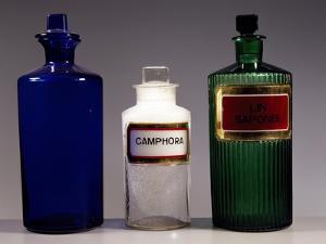 Glass Apothecary Bottles, England