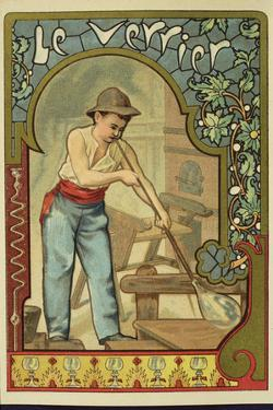 Glass Blower, Collector's Card
