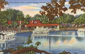 Glass Bottom Boats, Silver Springs, Florida