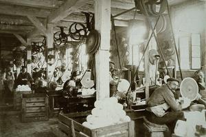 Glassworks, Baruth, C 1910