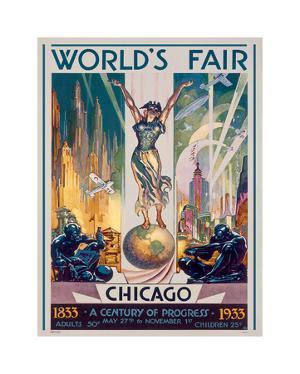 Chicago World's Fair, 1933 by Glen C^ Sheffer