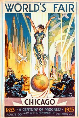 World's Fair, Chicago, 1933 by Glen C. Sheffer