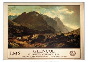 Glencoe, LMS, c.1940s