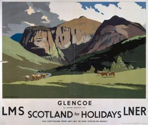Glencoe, LMS/LNER, c.1923-1947