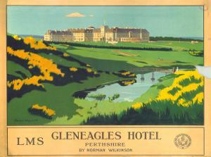 Gleneagles Hotel, LMS, c.1924-1947