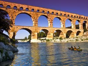 Canoeing Near Pont Du Gard by Glenn Beanland