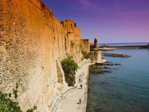 Chateau Royal and the Harbour at Collioure by Glenn Beanland