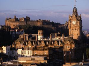 Cityscape from Calton Hill Edinburgh, Edinburgh, Scotland by Glenn Beanland