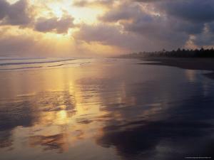 Clouds Over Pangandaran Beach, Java, Central Java, Indonesia by Glenn Beanland
