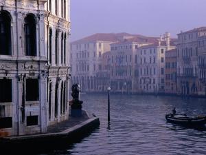 Early Morning Mist on Grand Canal Venice, Italy by Glenn Beanland