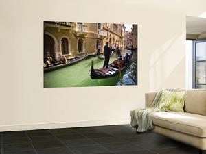 Gondola on Canal in San Marco by Glenn Beanland