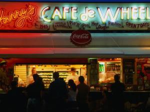 Harry's Cafe De Wheels, An Eating Institution Since 1945, Sydney, Australia by Glenn Beanland
