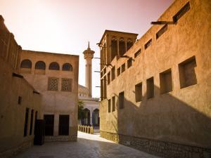 Historic Bastakia Quarter in Bur Dubai by Glenn Beanland