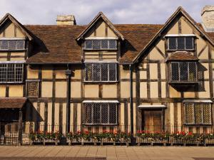 Shakespeare's Birthplace, in Henley Street, Stratford-Upon-Avon, United Kingdom by Glenn Beanland