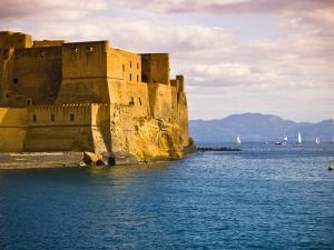 The 12th Century Castel Dell'Ovo by Glenn Beanland