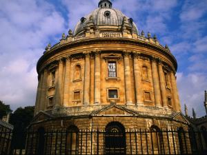 The Radcliffe Camera, Circular Library Built in 1748 on the Grounds of Oxford University, England by Glenn Beanland
