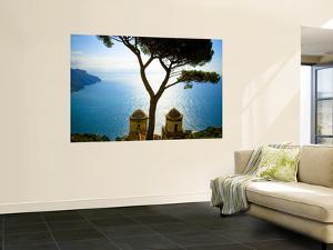 View from the 13th Century Villa Rufolo in Ravello, Amalfi Coast by Glenn Beanland