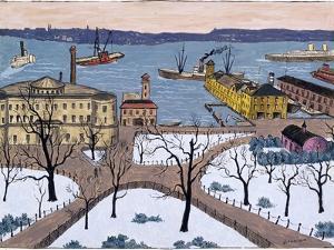 Battery Park by Glenn O. Coleman