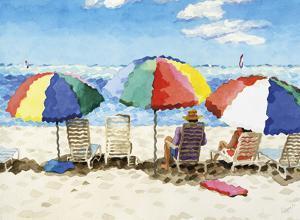 Beach Chairs by Glenn Tunstull