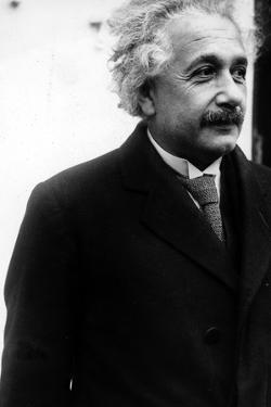 Albert Einstein by Globe Photos LLC