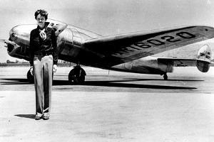 Amelia Earhart by Globe Photos LLC