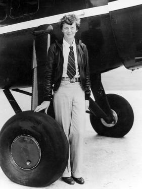 Amelia Earhart by Globe Photos LLC
