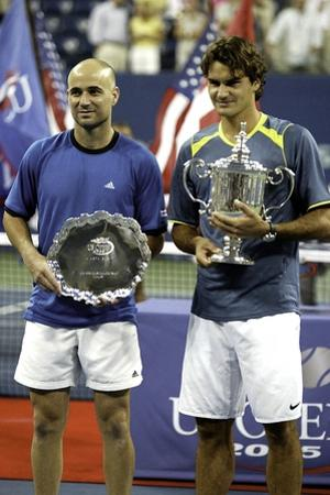 Andre Agassi by Globe Photos LLC