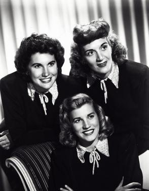 Andrews Sisters by Globe Photos LLC