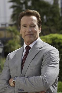 Arnold Schwarzenegger by Globe Photos LLC