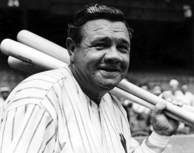 Babe Ruth by Globe Photos LLC